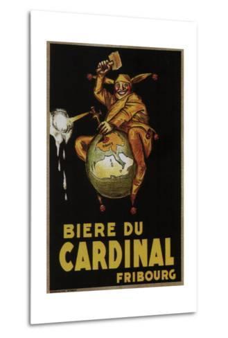Biere Du Cardinal-Achille Lucien Mauzan-Metal Print