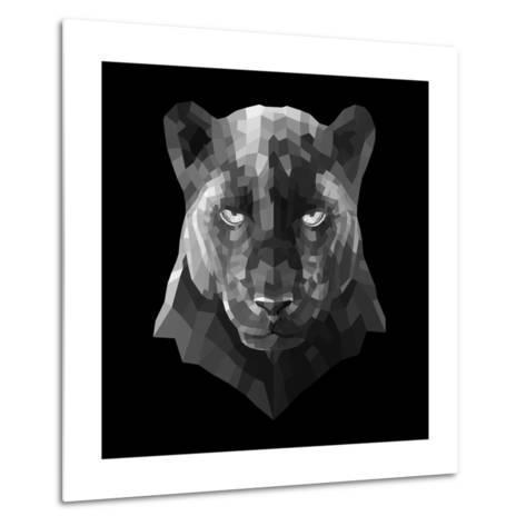 Black Panther-Lisa Kroll-Metal Print