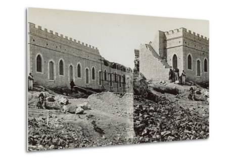 Mishkenot Sha'Ananim, 1860s-Mendel John Diness-Metal Print