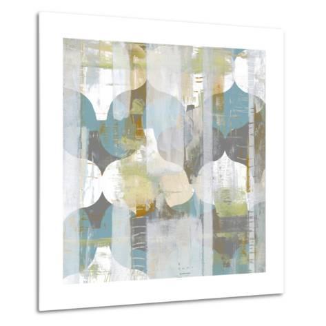 Arabesque Abstract I-Jennifer Goldberger-Metal Print