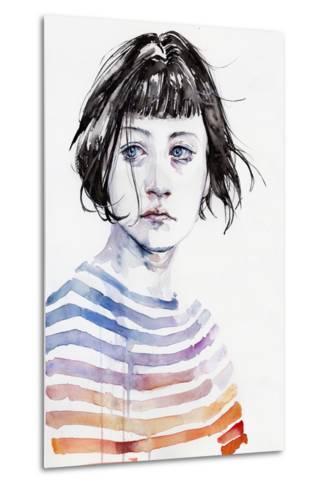 Amanda-Agnes Cecile-Metal Print