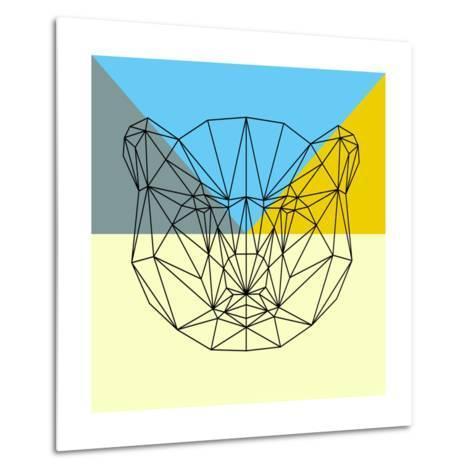 Party Bear-Lisa Kroll-Metal Print