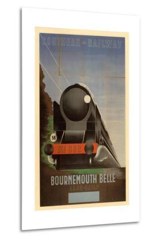 Bournemouth Belle--Metal Print
