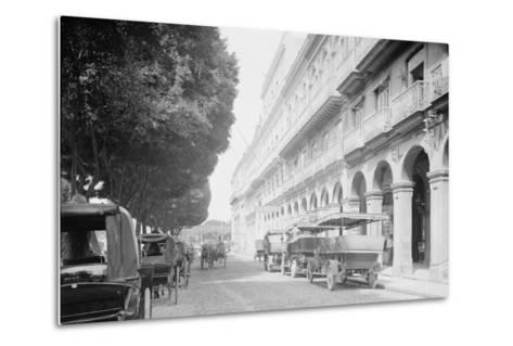 Hotel Pasaje, Havana, Cuba--Metal Print