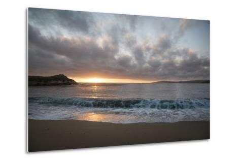 Pacific Sunset at Monterey, California-Carol Highsmith-Metal Print