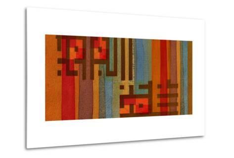The Language of Color III-Irena Orlov-Metal Print