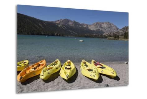 Kayaks - June Lake- Mono County, California-Carol Highsmith-Metal Print