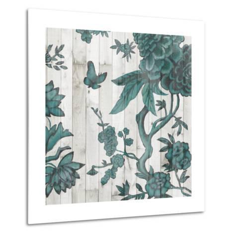 Terra Verde Chinoiserie I-Naomi McCavitt-Metal Print