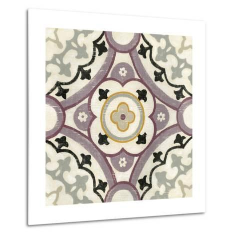 Lavender Suzani II-Chariklia Zarris-Metal Print