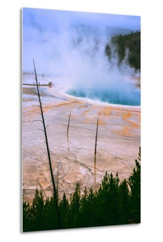 The Amazing Grand Prismatic Spring, Yellowstone National Park-Vincent James-Metal Print