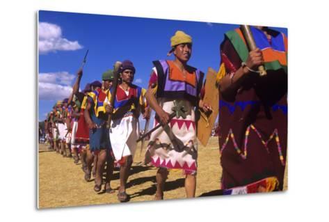Inti Raymi, Incan Celebration, Cusco, Peru--Metal Print