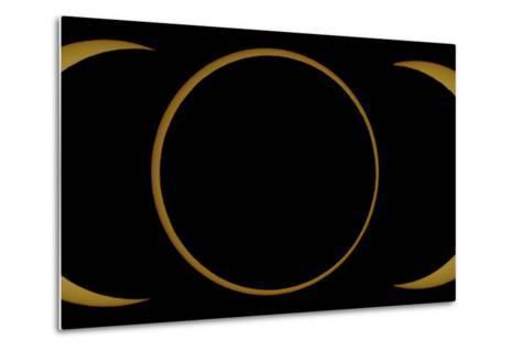 A Composite Image of an Annular Solar Eclipse-Babak Tafreshi-Metal Print