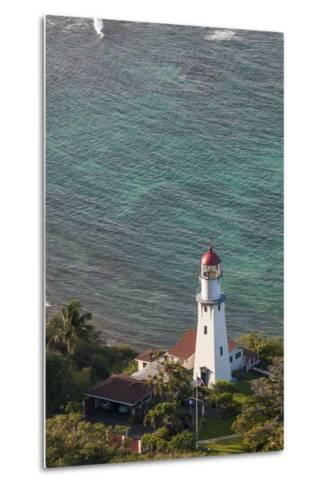 Diamond Head Lighthouse, Honolulu, Oahu, Hawaii, United States of America, Pacific-Michael DeFreitas-Metal Print