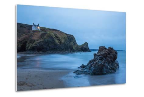 Llangrannog Beach, Ceredigion (Cardigan), West Wales, Wales, United Kingdom, Europe-Billy Stock-Metal Print