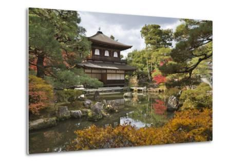 The Silver Pavilion, Buddhist Temple of Ginkaku-Ji, Northern Higashiyama, Kyoto, Japan-Stuart Black-Metal Print