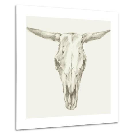 Western Skull Mount II-Ethan Harper-Metal Print
