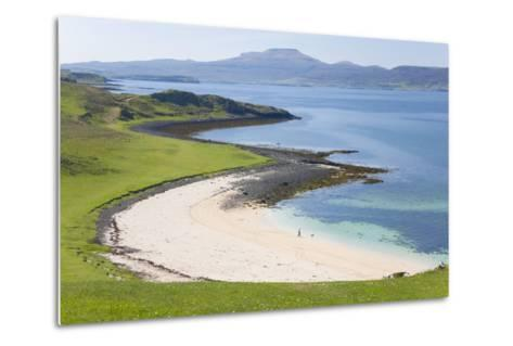 View over Coral Beach and Loch Dunvegan-Ruth Tomlinson-Metal Print