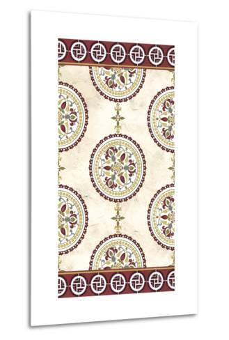 Embellished Mandala Panel II-June Erica Vess-Metal Print