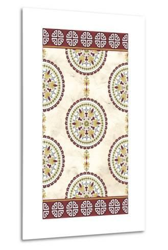 Embellished Mandala Panel I-June Erica Vess-Metal Print