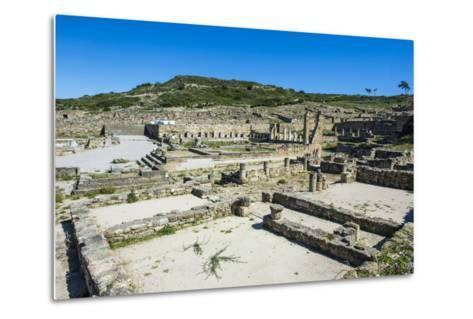 Ruins of Ancient Kameiros, Kalavarda, Rhodes, Dodecanese Islands, Greek Islands, Greece-Michael Runkel-Metal Print