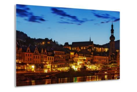 The Town of Cochem Sits on the Bank of the Moselle River-Babak Tafreshi-Metal Print
