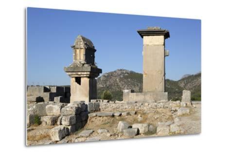 Harpy Monument and Lycian Tomb-Stuart Black-Metal Print