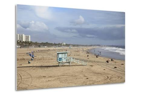 Santa Monica, Los Angeles, California, United States of America, North America-Wendy Connett-Metal Print