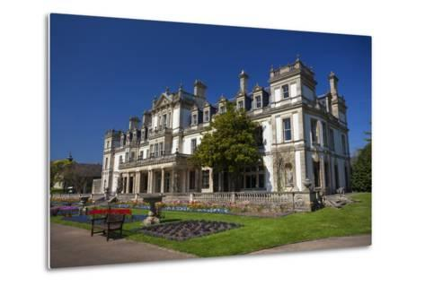 Dyffryn House, Dyffryn Gardens, Vale of Glamorgan, Wales, United Kingdom-Billy Stock-Metal Print