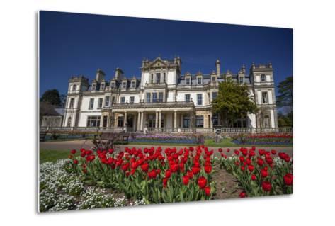 Dyffryn House, Dyffryn Gardens, Vale of Glamorgan, Wales, United Kingdom-Billy Stock-Metal Print