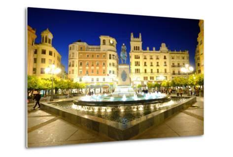Plaza Tendillas, Cordoba, Andalucia, Spain-Carlo Morucchio-Metal Print