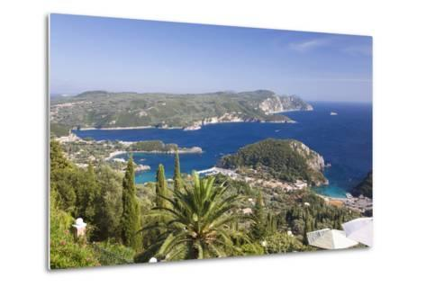 View over Liapades Bay from Hilltop Viewpoint Near Lakones-Ruth Tomlinson-Metal Print