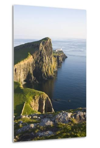View to the Clifftop Lighthouse at Neist Point-Ruth Tomlinson-Metal Print