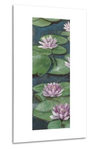 Tranquil Lilies I-Naomi McCavitt-Metal Print