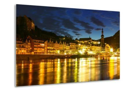 The Town of Cochem Sits on the Banks of the Moselle River-Babak Tafreshi-Metal Print