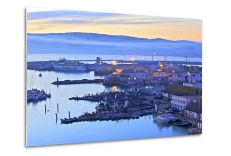 The Harbour at Dawn, Tangier, Morocco, North Africa, Africa-Neil Farrin-Metal Print