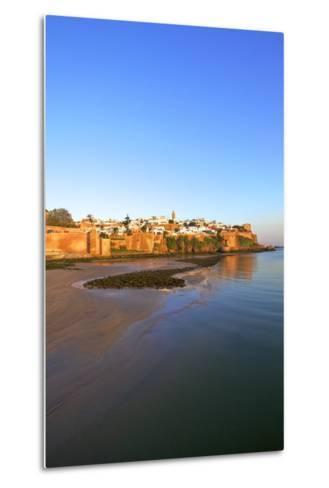 Oudaia Kasbah and Coastline, Rabat, Morocco, North Africa, Africa-Neil Farrin-Metal Print