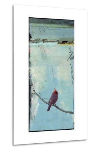 Bird Window I-Ingrid Blixt-Metal Print