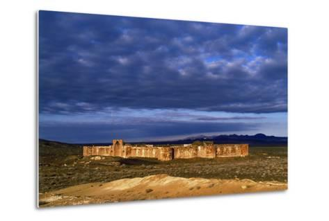 The Historic Bahram Palace Caravansary, a Roadside Inn, a Place for Travelers to Rest and Recover-Babak Tafreshi-Metal Print