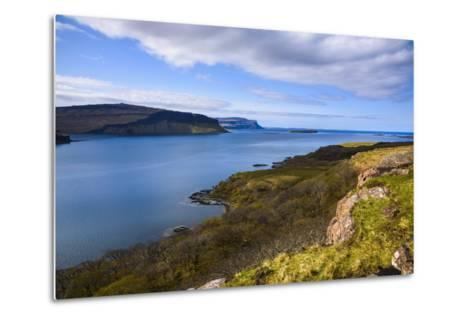 Loch Na Keal, Isle of Mull, Inner Hebrides, Argyll and Bute, Scotland, United Kingdom-Gary Cook-Metal Print