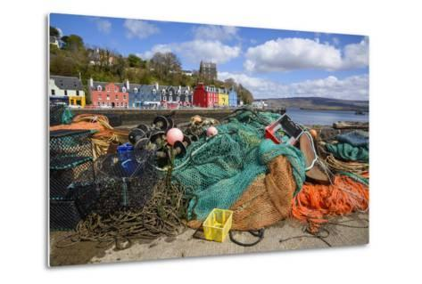 Tobermory Harbour, Isle of Mull, Inner Hebrides, Argyll and Bute, Scotland, United Kingdom-Gary Cook-Metal Print