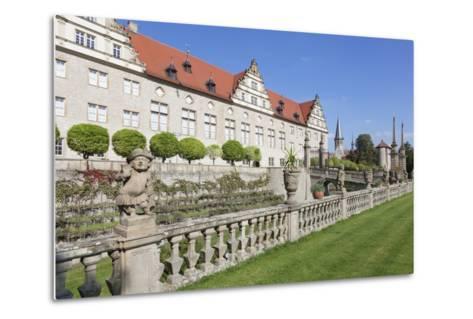 Schloss Weikersheim, Weikersheim, Romantische Strasse (Romantic Road)-Markus Lange-Metal Print
