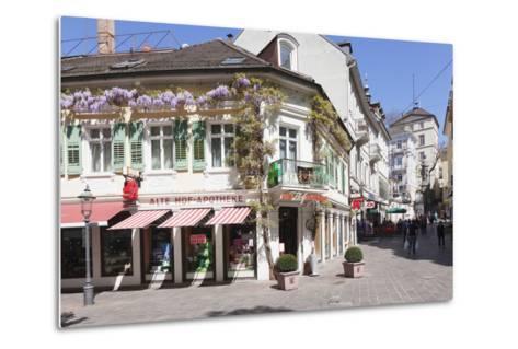 Pedestrian Area, Baden-Baden, Black Forest, Baden-Wurttemberg, Germany, Europe-Markus Lange-Metal Print