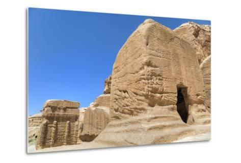 Djinn Blocks, Dating from Between 50 BC and 50 Ad, Petra, Jordan, Middle East-Richard Maschmeyer-Metal Print