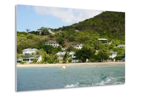 Oualie Beach Hotel, Nevis, St. Kitts and Nevis-Robert Harding-Metal Print