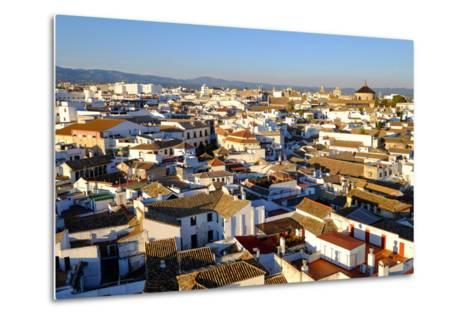 View of Cordoba from the Mezquita Cathedral Bell Tower, Cordoba, Andalucia, Spain-Carlo Morucchio-Metal Print
