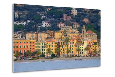 Santa Margherita Ligure Seen from the Harbour, Genova (Genoa), Liguria, Italy, Europe-Carlo Morucchio-Metal Print