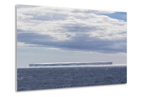 Tabular Iceberg in the Gerlache Strait, Antarctica, Polar Regions-Michael Nolan-Metal Print