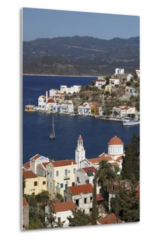 View of Harbour, Kastellorizo (Meis), Dodecanese, Greek Islands, Greece, Europe-Stuart Black-Metal Print