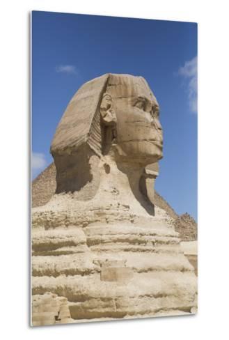 Sphinx, the Giza Pyramids, Giza, Egypt, North Africa, Africa-Richard Maschmeyer-Metal Print
