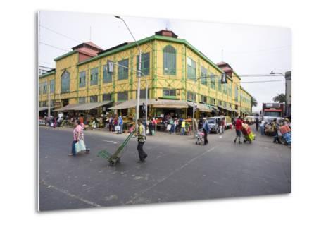 Central Market, Valparaiso, Chile-Peter Groenendijk-Metal Print